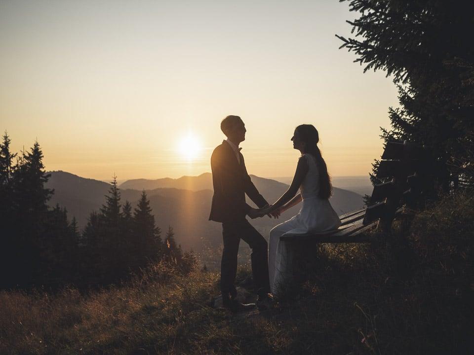 Hochzeit Fotoshooting Berge